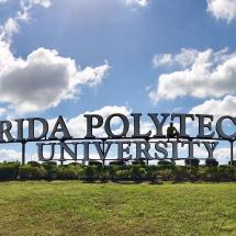 Florida Polytechnic University Sign