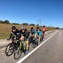 Group Training Ride-Power Progression