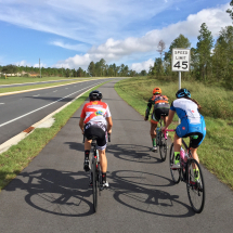 Group Training Rides with all skill levels!