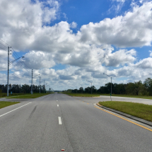 Perfect Open Road for a Time Trial